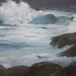 Nor'easter (sold) - 12 x 16 oil